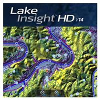 Lowrance Lake Insight HD 2014 Map Card