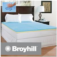 Broyhill™ Sensura™ Gel Enhanced 2 inch Memory Foam Mattress Topper