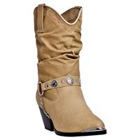 Women's Dingo Bailey Western Slouch Boots, Tan