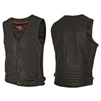Men's Side Ribbed Vest by Milwaukee Motorcycle Clothing Company®