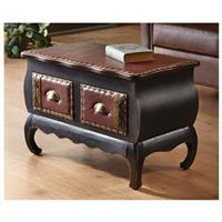 River of Goods Studded Accent Table