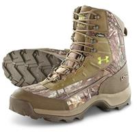 Under Armour Men's Brow Tine Primaloft Insulated Boots, 800 Grams, Realtree AP Xtra