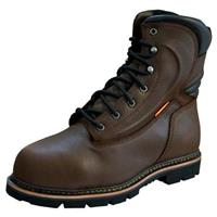 Men's Golden Retriever® 9 inch Waterproof Composite Toe MetGuard Work Boots, Brown