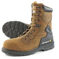 Carhartt Men's Steel Toe Waterproof 87#34; Bison Boots, Harness Brown