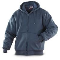 Sportier Men's Hoodie, Fleece-Lined, Navy