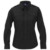 Women's Propper™ Long-sleeved Tactical Shirt, Black