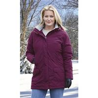 Guide Gear Women's Cascade Parka, Fleece-Lined, Deep Purple