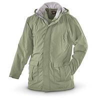 Guide Gear Men's Cascade Parka, Fleece-Lined, Military Green