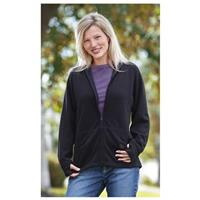 Women's Guide Gear Zip-up Hoodie, Black