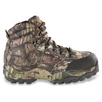 Men's Guide Gear Guidelight II Hunting Boots, Waterproof, 400 Gram Insulation, Mossy Oak Camo