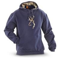 Browning® Buckmark Camo Hooded Sweatshirt, River Blue