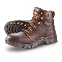 Men's Carolina Waterproof Work Boots, Brown