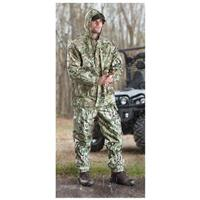 Military Surplus MultiCam Camo Men's Two-Piece  Rain Suit