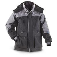Jacob Ash Ice Fishing Parka, Black / Gray