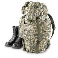 Military-style Tactical Rucksack, Army Digital • 2,300-cu. in. capacity