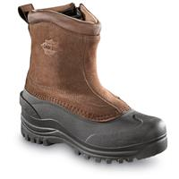 Guide Gear Men's Side-Zip Insulated Winter Boots, 400 Grams, Brown