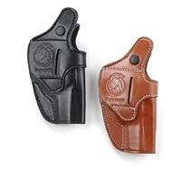 Cebeci Ruger SP101 Top-grain Leather in-the-pant Holster, Black and Tan