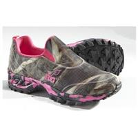 Women's Realtree Viper Casual Moc Slip-on Shoes, Hot Pink / Realtree Max 5