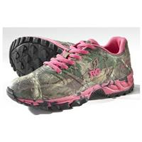 Women's Realtree Girl Mamba Athletic Shoes, Hot Pink / Xtra Green