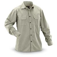 Guide Gear Men's Long-Sleeve Shirt, Tan