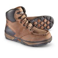 Men's Rocky Forge 6 inch Waterproof Work Boots, Medium Brown