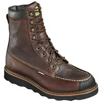 Men's Wood N' Stream 8 inch Flyway Waterproof Steel Toe Hunting Boots, Red Oak
