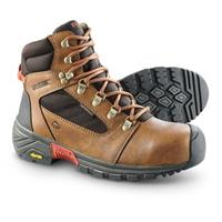 Men's Wolverine Mansard Waterproof Work Boots, Light Brown