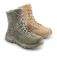 Reebok Swiftsure Men's Side-Zip Military Boots, Sage / Tan