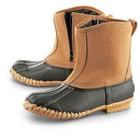 "Guide Gear® Outdoor Men's Side-Zip 9"" Insulated / Waterproof Duck Boots"