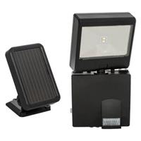 Maxsa Solar-Powered LED Motion-Activated Security Spotlight