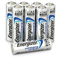 8-Pk. of Energizer® AA Ultimate Lithium Batteries