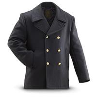 Mil-Tec Military Style Wool Pea Coat