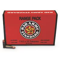 Red Army, 7.62x25mm Tokarev, 86 Grain, 450 Rounds