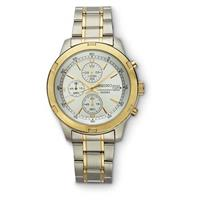 SEIKO® Chronograph Watch, Two-tone