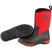 Women's Muck Boot® Arctic Weekend Solid Boots, Black / Red