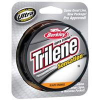 330 yards of Berkley® Pro Grade Blaze Orange Trilene® Sensation® Fishing Line