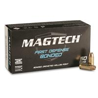 Magtech First Defense Bonded, .40 S&W, BJHP, 180 Grain, 50 Rounds