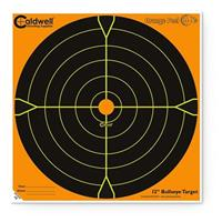 25-Pk. of 12 inch Caldwell Orange Peel Bullseye Targets