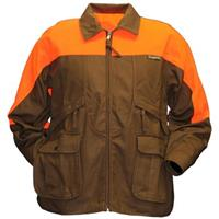 Gamehide Rooster Upland Jacket, Dark Brown / Orange