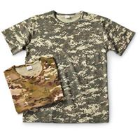 2-Pk. Military-style Camo T-shirts