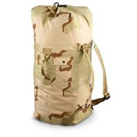 New U.S. Military Surplus Fire-resistant Duffel Bag, Desert Camo