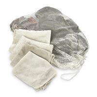 Dutch Military Issue Mesh Laundry Bags, 5 Pack, Used