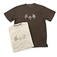 2-Pk. of Browning Performance Camo Short-sleeved T-shirts, Timber / Tan