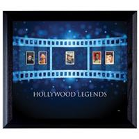"""Hollywood Legends"" Stamp Collection Display by American Coin Treasures"