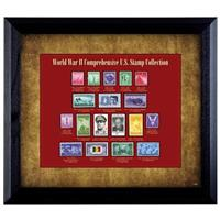 World War II Stamp Collection Display by American Coin Treasures
