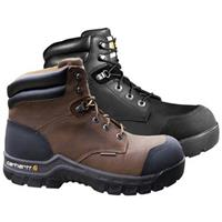 "Carhartt 6"" Rugged Flex Waterproof Composite Toe Work Boots • Brown  or Black"
