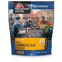 Mountain House Emergency Food Freeze-Dried Scrambled Eggs / Bacon, 3 Pouches