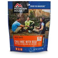Mountain House Emergency Food Freeze-Dried Chili Mac, 2 Pouches