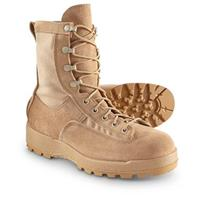 New Men's U.S. Military Surplus GORE-TEX Desert Combat Boots