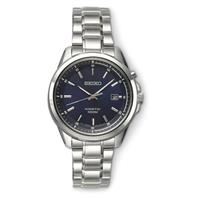 SEIKO Blue Kinetic Quartz Watch